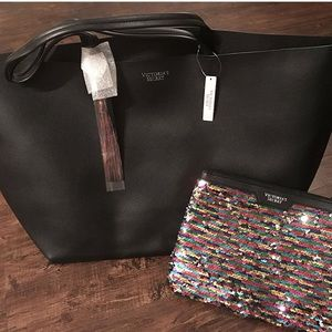 Vs Tote and Makeup bag